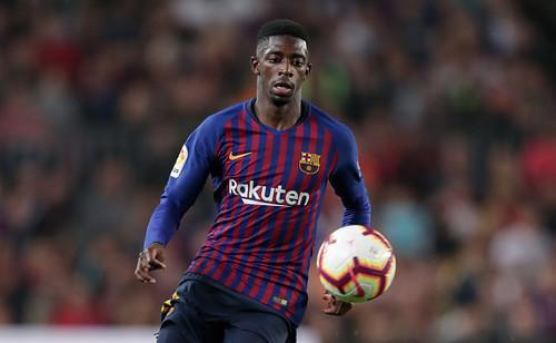Дембеле извинился перед игроками Барселоны за опоздание на тренировку