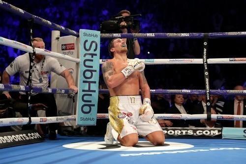 Александр Усик – лучший боксер года по версии Sports Illustrated