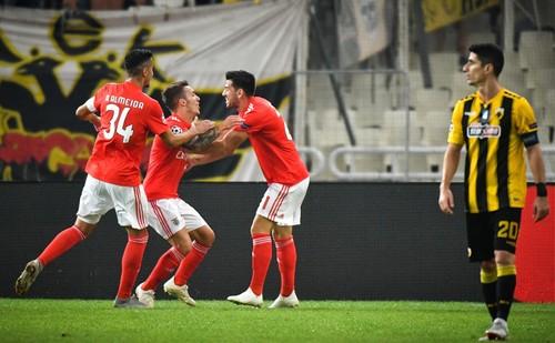 Бенфика – АЕК – 1:0. Видео голов и обзор матча