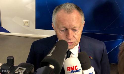 Президент Лиона: «Еще до матча говорил, что мы сильнее Шахтера»