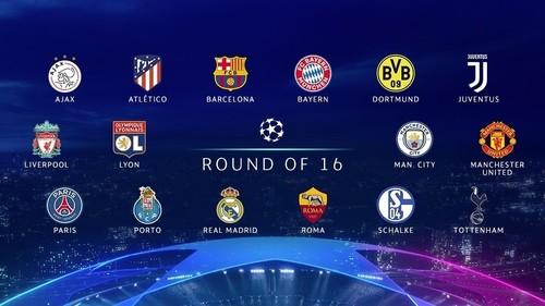 17-го декабря определятся пары 1/8 финала Лиги чемпионов