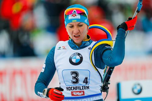 Хохфильцен-2018. Украинки провалили спринтерскую гонку