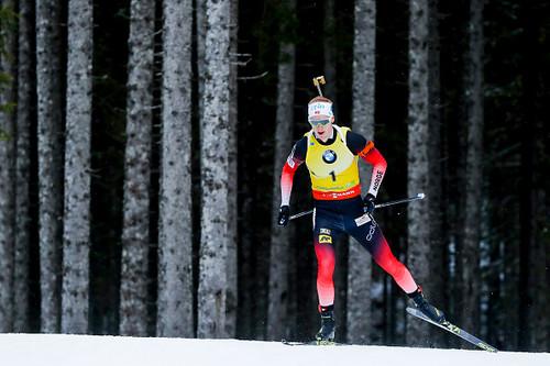 Хохфильцен-2018. Йоханнес Бё с кругом штрафа выиграл спринт