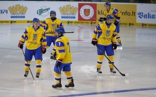 ЧМ по хоккею U-20. Украина проиграла в последнем матче на турнире