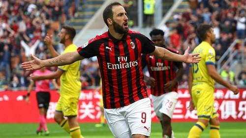 Милан не станет выкупать Игуаина у Ювентуса