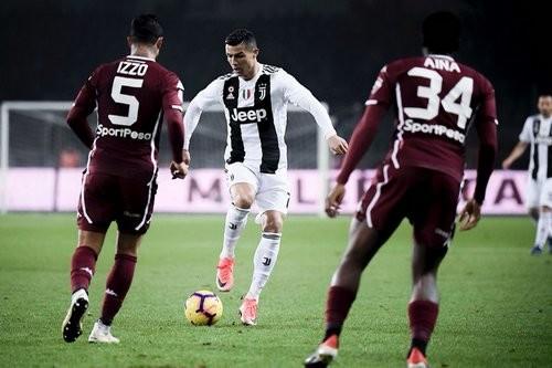 Ювентус с минимальным счетом обыграл Торино в туринском дерби