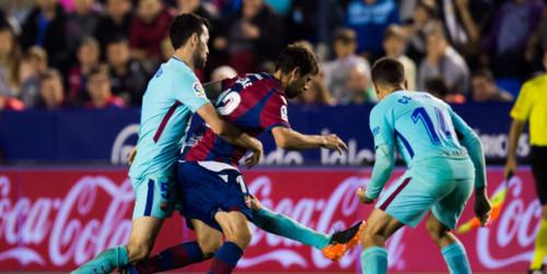 Где смотреть онлайн матч чемпионата Испании Леванте - Барселона