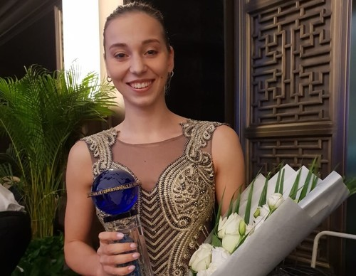 Елизавета Яхно - лучшая синхронистка 2018-го года
