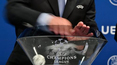 Жеребьевка плей-офф Лиги чемпионов. LIVE