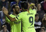 Месси и Суарес забили в чемпионате Испании больше, чем весь Реал