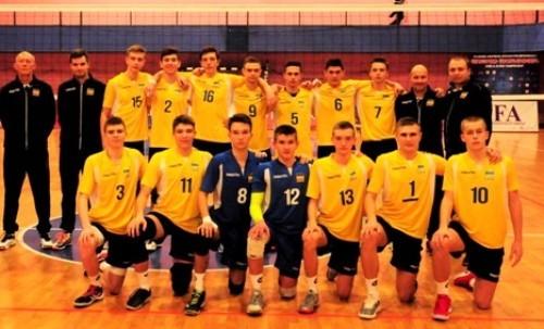 Сборная Украины U-15 заняла третье место на турнире EEVZA