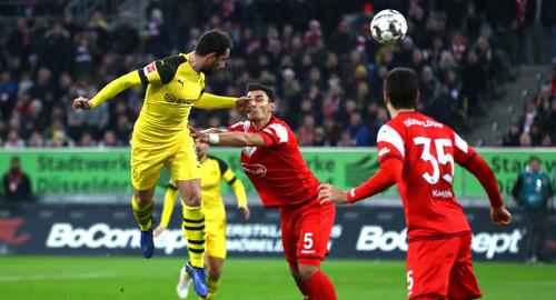 Бундеслига. Боруссия Д потерпела первое в сезоне поражение
