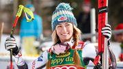 Шиффрин выиграла гигант в Куршевеле