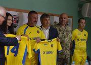 Сборная Украины может сыграть товарищеский матч с СК Днепр-1