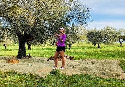 ВИДЕО. Леся Цуренко снялась в рекламе оливкового масла