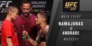 UFC-237. Роуз Намаюнас - Джессика Андраде. Видео мощнейшего нокаута