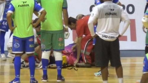 В Бразилии судья скончался от инфаркта, случившегося во время матча