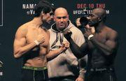 ВИДЕО. Самые короткие несостоявшиеся бои в истории UFC