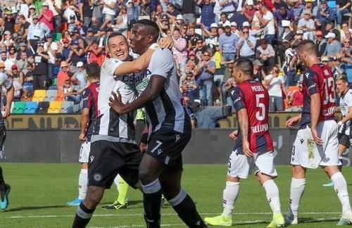 Удинезе — Болонья — 1:0. Видео гола и обзор матча