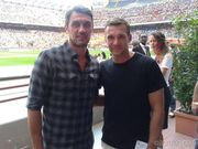 Мальдини и Шевченко проведут встречу в Милане