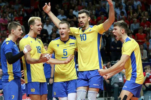 Збірна України піднялася на п'ять позицій в європейському рейтингу