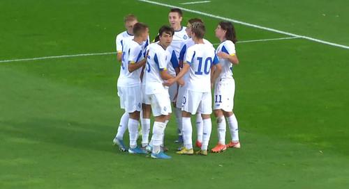 Динамо U-19 знищило Шкендію в матчі 1-го раунду Юнацької ліги УЄФА