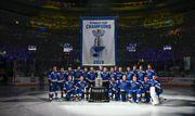 ВИДЕО. Первый гол нового сезона НХЛ, чемпионский баннер Сент-Луиса