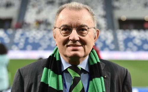 Скончался президент Сассуоло Джорджио Скуинци