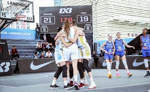 Женская сборная U-23 добыла две победы на чемпионате мира 3x3