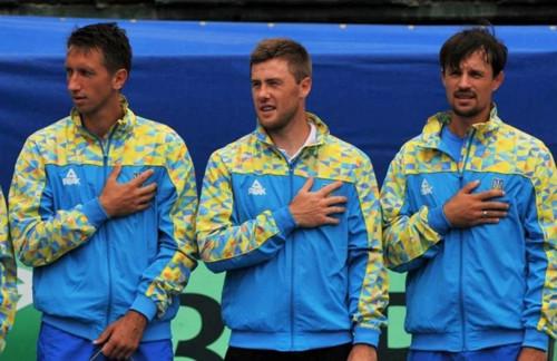 Украина в Кубке Дэвиса сыграет со сборной Тайваня