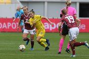 Женская сборная Украины во второй раз пропустила 8 мячей от Германии