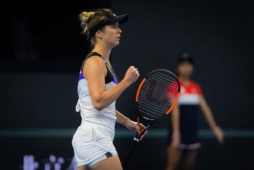 Свитолина конкурирует с Бертенс и Бенчич за путевку на Финал WTA