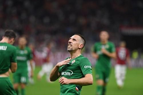 36-летний Рибери признан игроком месяца в Серии А