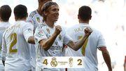 Реал Мадрид - Гранада - 4:2. Видео голов и обзор матча