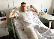 ФОТО. Бурда успешно прооперирован в клинике Барселоны