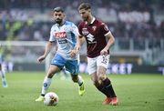 Наполи потерял очки в игре с Торино в чемпионской гонке Серии A
