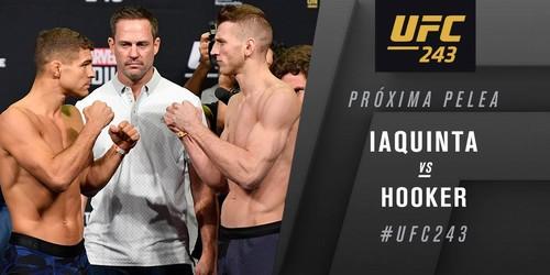 UFC 243. Эл Яквинта – Дэн Хукер. Видео боя