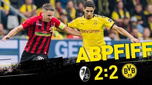 Фрайбург - Боруссия Дортмунд - 2:2. Видео голов и обзор матча