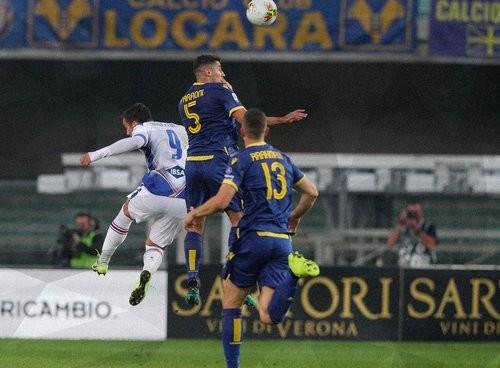 Верона — Сампдория — 2:0. Видео голов и обзор матча
