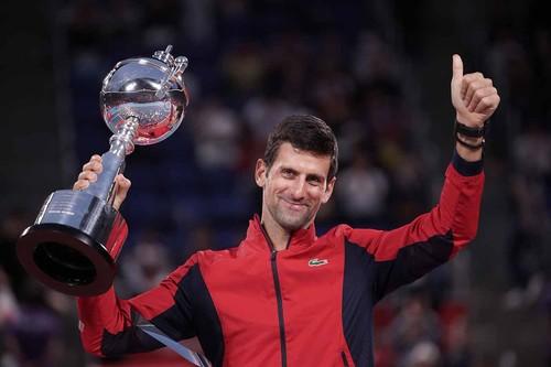 Джокович стал победителем турнира в Токио