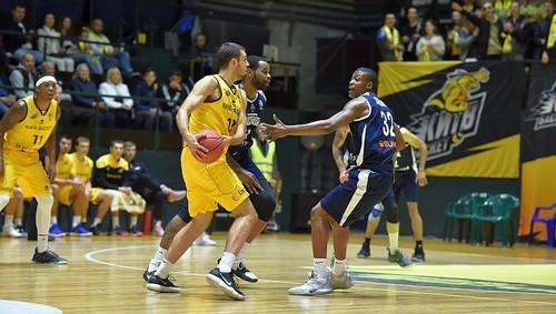 Киев-Баскет одержал волевую победу против Харьковских Соколов