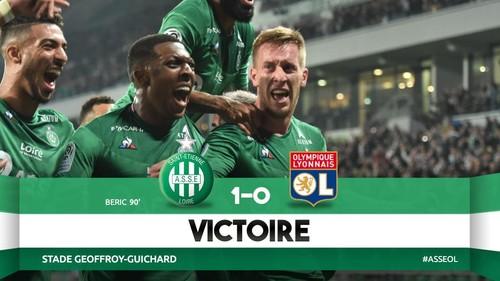 Сент-Этьен на последней минуте вырвал победу у Лиона