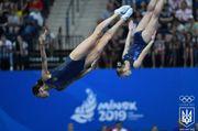 Украинки Кийко и Малькова выиграли этап КМ по прыжкам на батуте