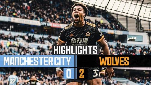 Манчестер Сити – Вулверхэмптон – 0:2. Видео голов и обзор матча