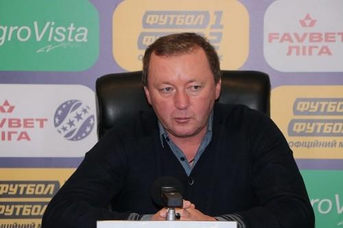 Владимир Шаран провел 200-й матч на тренерском посту