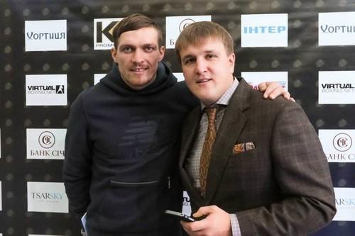 Александр КРАСЮК: «Россиянин Устинов точно не будет соперником Усика»