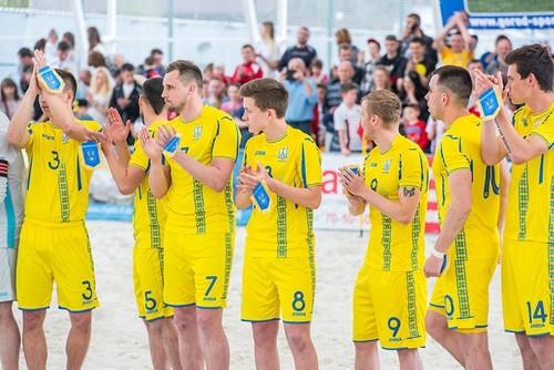 Украина отправляется в Катар на Всемирные пляжные игры: состав команды
