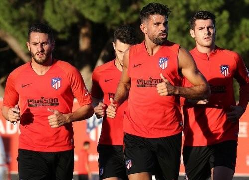 Диего Коста не смог закончить тренировку Атлетико из-за болезни