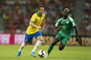 Бразилия сыграла вничью с Сенегалом в товарищеском матче