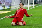 Левандовски забил в седьмом матче подряд